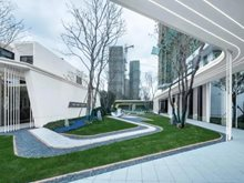 潮悦前城的意境园林,大华与唯格联手打造慢调生活新趋势!