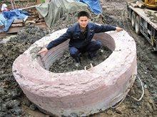 巨石的诞生