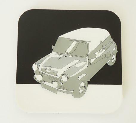 OEM-MINI Auto Ads Coasters