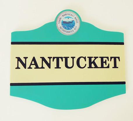 OEM-NANTUCKET Ads Gift Coasters