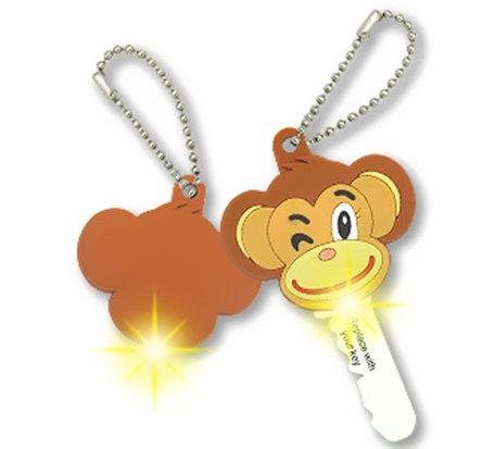LED Cartoon Animal Shape Key Cover