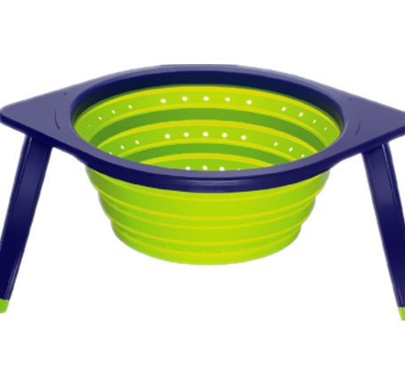 SCC010 Silicone Collapsible Colanders