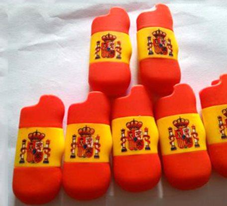 PVC 3D Embossed Lighter Case