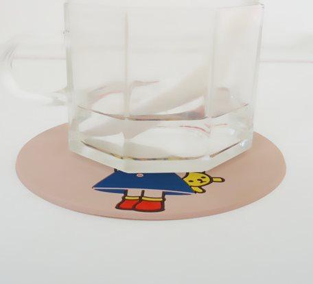 I-CC037PVC Cartoon Coasters
