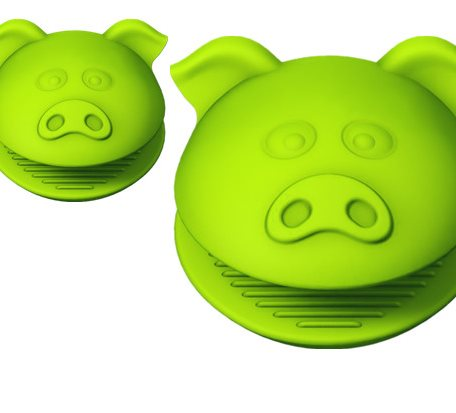 OEM Pig Shape Silicone Heat Proof gloves