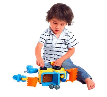 拆装工程车智力玩具