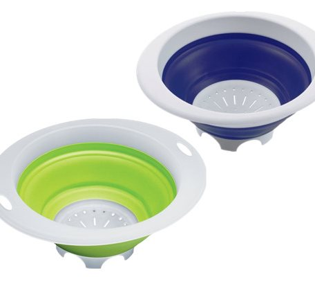 SCC004 Silicone Collapsible Colanders