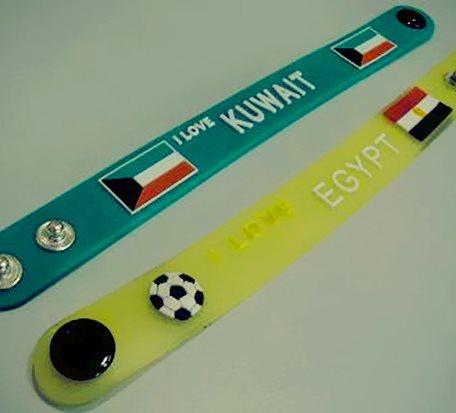 Football Club Gifts Wristband