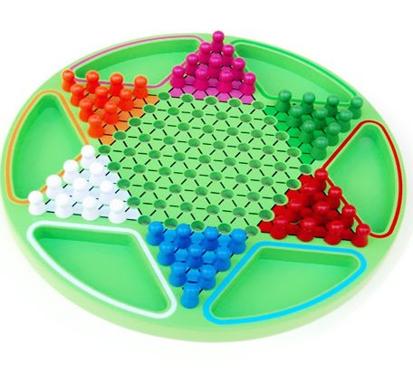 跳棋儿童智力玩具