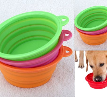 SPB008 Silicone Pet Collapsible Bowl