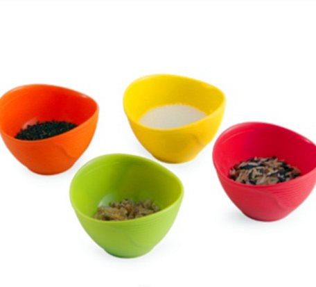 Silicone Lunch Pinch Bowl