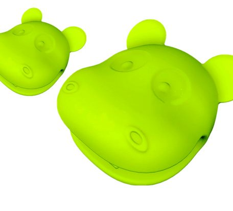 OEM Hippo Shape Silicone Heat Proof Gloves