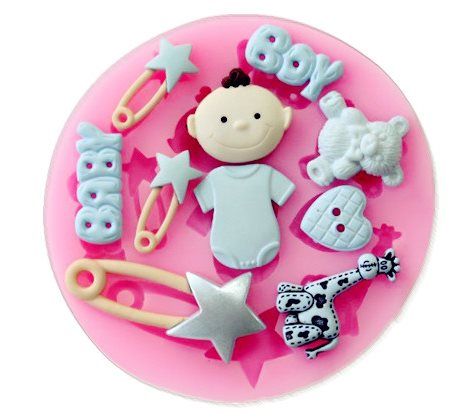 Kids-Silicone Muffin Mold SMP012