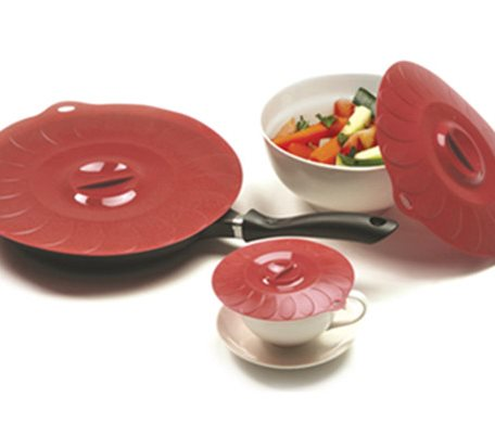 SSL003 Round Silicone Suction Lid