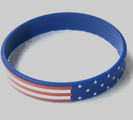 American Silicone Bracelet