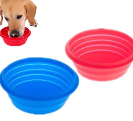 SPB009 Silicone Pet  Collapsible Bowl