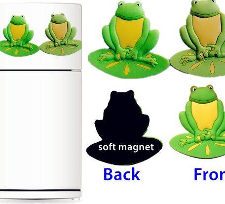 Frog  Shape Fridge Magnet