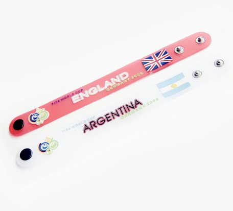 OEM Wrist band Gifts for FIFA World