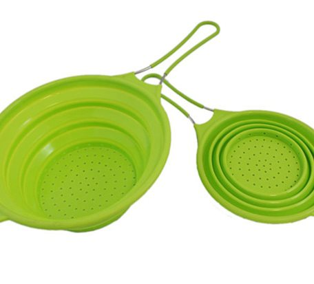 SCC006 Silicone Collapsible Colanders
