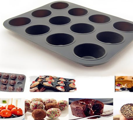 SMP001 Silicone Muffin Mold