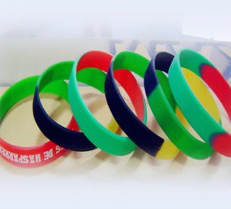 2Paragraph Colour Matching Silicone Bracelet