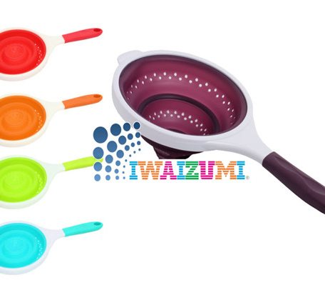 SCC014 Silicone Collapsible Colanders