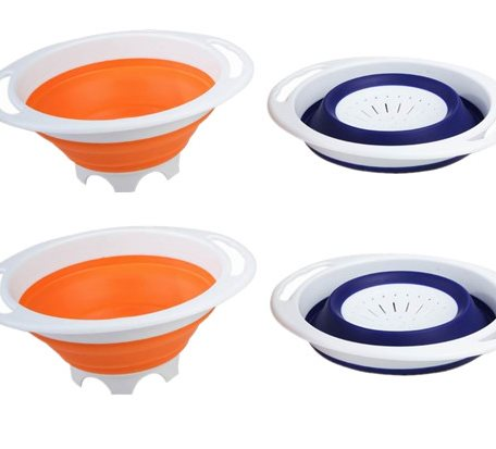 SCC013 Silicone Collapsible Colanders