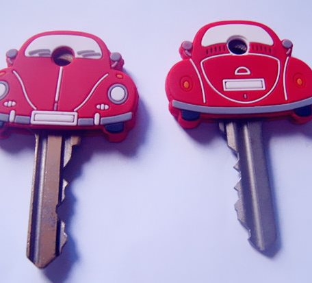 Car Shape Key Covers