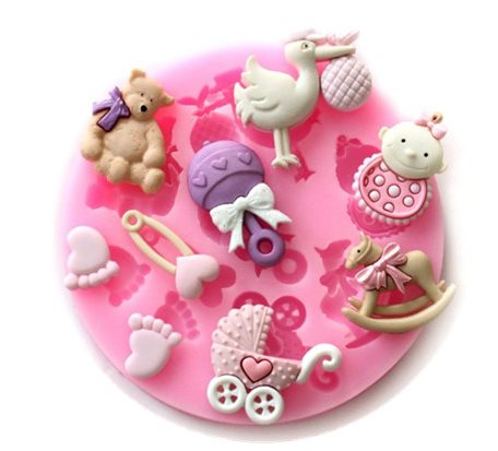 Kids-Silicone Muffin Mold SMP011