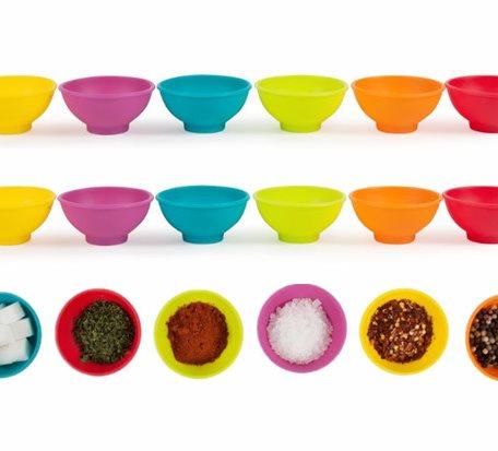 Silicone condiment Bowl