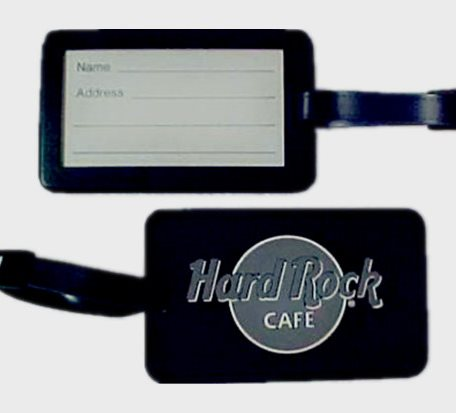 LT037PVC gifts Luggage Tags