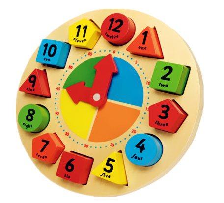 儿童益智玩具快乐时钟