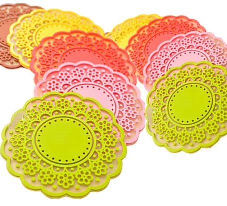 SM001 Flower Shape Silicone Heat Proof Cup Mat