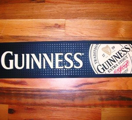 OEM Guinness Fashionable Bar Mat