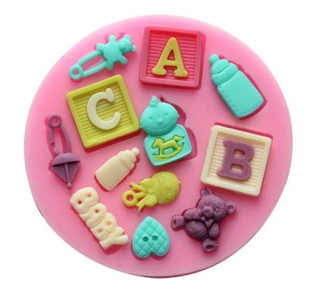 Kids-Silicone Muffin Mold SMP014