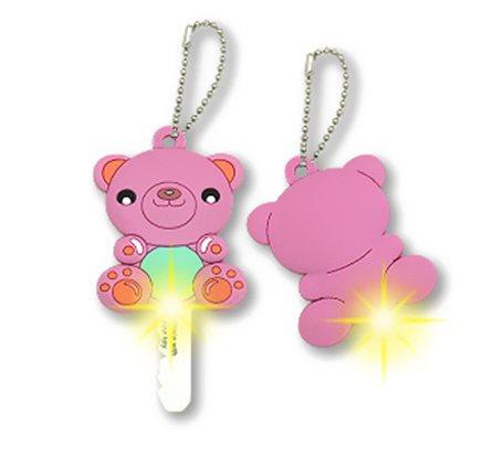 LED Cartoon PVC Key Cover