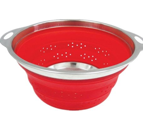 SCC011 Silicone Collapsible Colanders