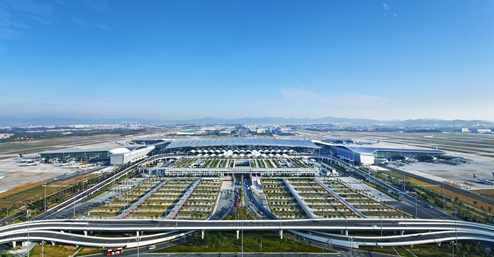 广州新白云国际机场T2航站楼及配套设施
