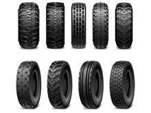 You can not know the type of car tires patterns