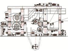 Multi-cylinder machine
