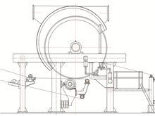 1092 - 2800 mm Cylinder Tissue Paper Machine