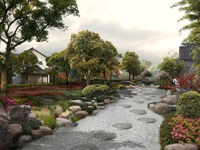 操军镇美丽乡村设计-湿地花园
