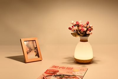 What characteristic does Huazeng Science and technology protect eye desk lamp to have?